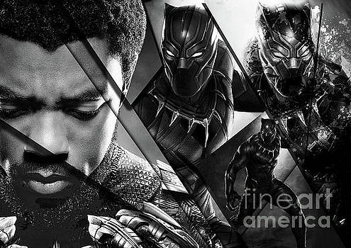 Black Panther - 44 by Prar Kulasekara