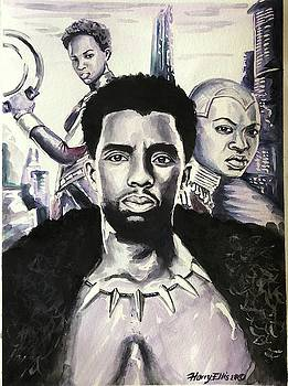 Black Panther by Harry T Ellis