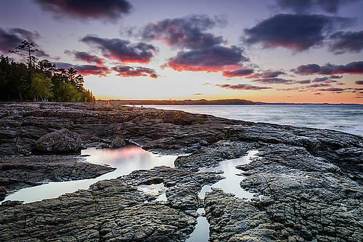 Black Rocks Sunset by John Wilkinson