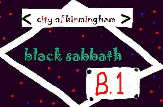 Enki Art - black sabbath brum poster