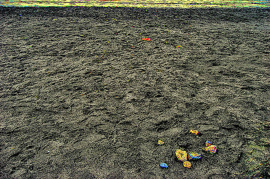Black sand. by Andy Za
