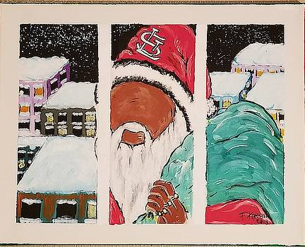 Black Santa by F-Kenneth Taylor