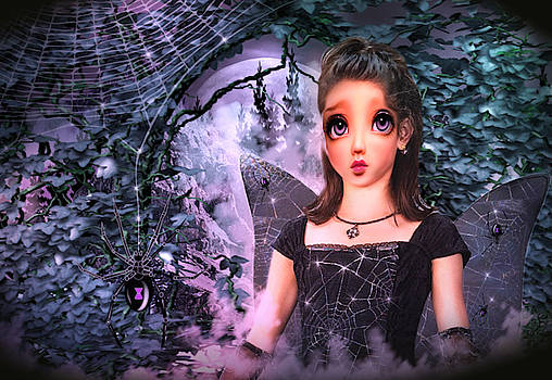 Black Widow Princess by Artful Oasis