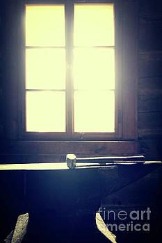 Blacksmith's hammer on the anvil by Michal Boubin