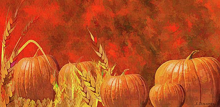 Blazing Pumpkins by Jennifer Stackpole