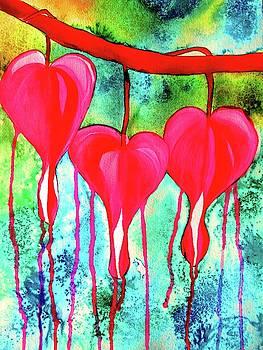 Bleeding Hearts by Sacha Grossel