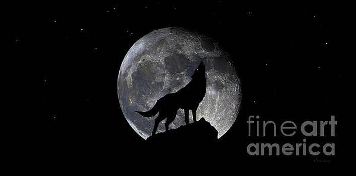 Ricardos Creations - Pre Blood Red Wolf Supermoon Eclipse 873r