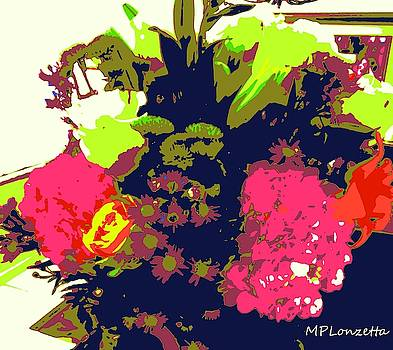 Blooming Abstract by Marian Palucci-Lonzetta
