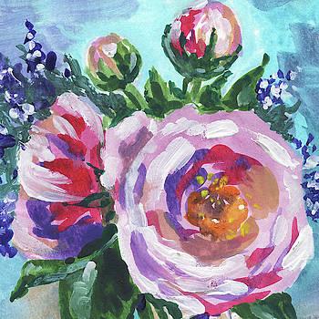 Irina Sztukowski - Blooming Flowers Bouquet Floral Impressionism