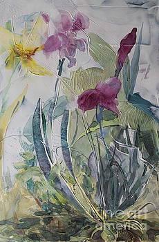 Blooming Iris by Elizabeth Carr