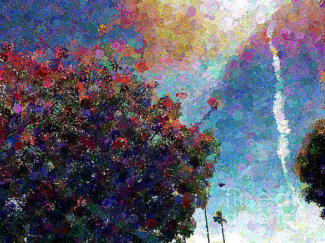 Blooming Trees by Katherine Erickson