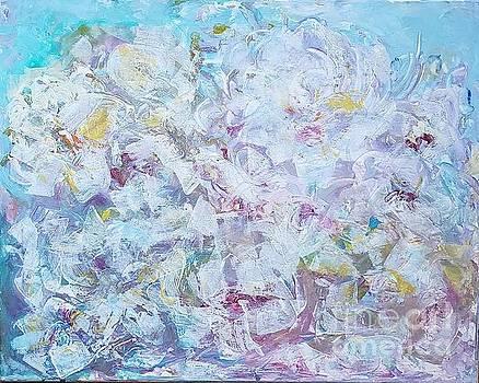 Blossoming by Olga Malamud-Pavlovich