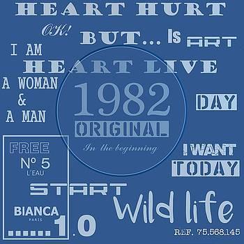 Blue 1982 original, by Alberto RuiZ