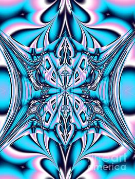 Blue And Purple by Galina Lavrova