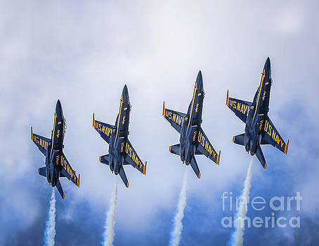 Blue Angels #1 by Warrena J Barnerd
