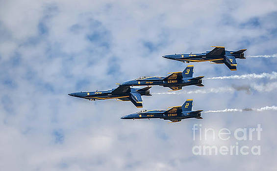 Blue Angels #9 by Warrena J Barnerd