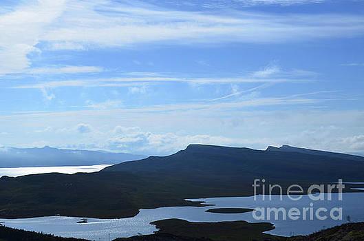 Blue Bearreraig Bay Views by DejaVu Designs