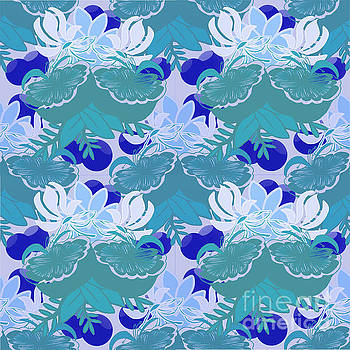 Blue Berries by Priscilla Wolfe