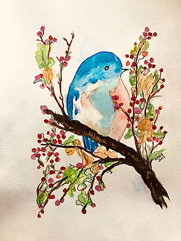 Blue Bird by Aingeal Rose