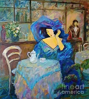 Blue Cafe by Amalia Suruceanu