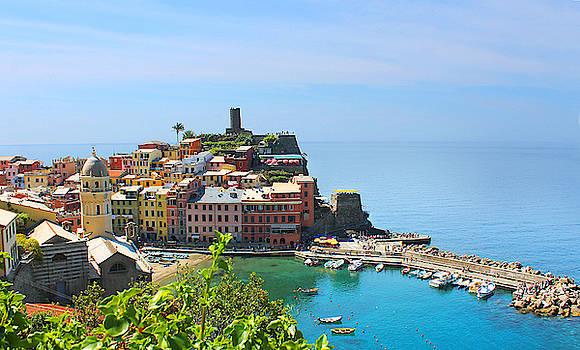 Blue Cinque Terre by Christine Buckley