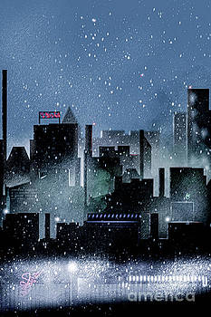 Benjamin Harte - Blue City Skyline
