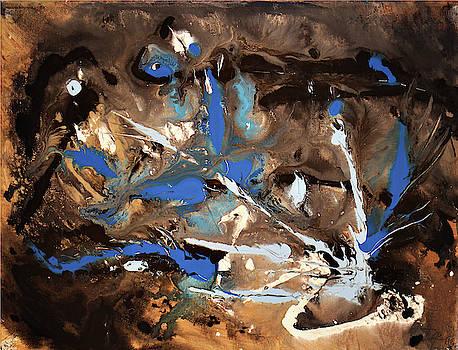 Blue Decay by Dea Poirier