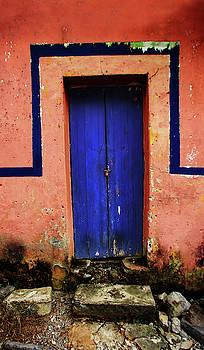 Blue Door by Bruce Herman