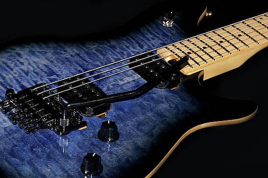 Mike Murdock - Blue Electric Guitar