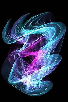 Blue flame by Ronni Dewey