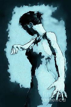 Blue Flamenco by John Edwards
