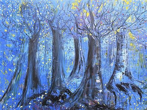 Blue Forest by Evelina Popilian