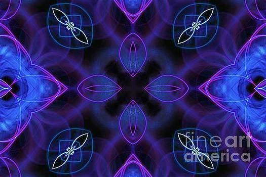Blue Glow by Angela Stafford
