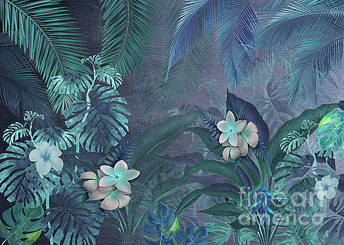 Blue Hawaiian Rain Forest by J Marielle