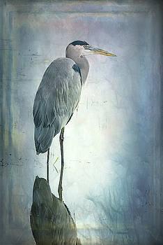 Rebecca Evans - Blue Heron 1