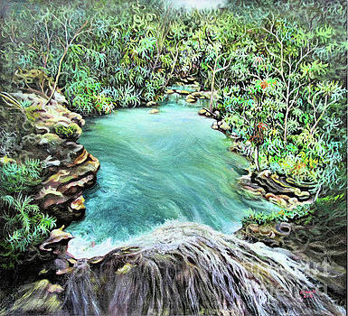 Blue Hole by McAnuff Art