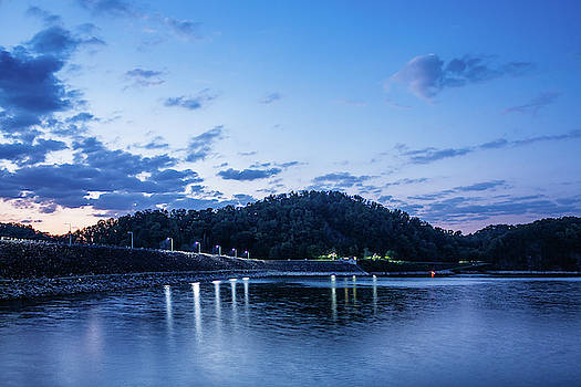 Blue Hour at South Holston by Greg Booher
