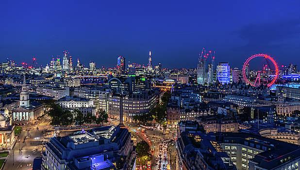 Blue Hour in London by Stewart Marsden