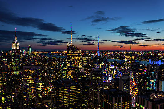 Blue Hour in New York by Steve Boyko