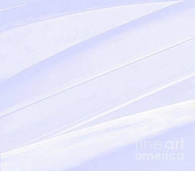 Sharon Williams Eng - Blue Ice Abstract Patterns