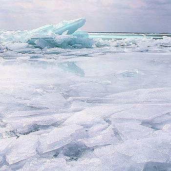 Blue ice by Angela King-Jones