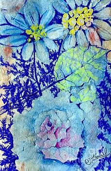 Blue-min MASA by Laurel Adams