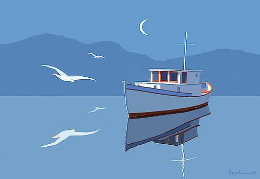 Blue Moon by Gary Giacomelli