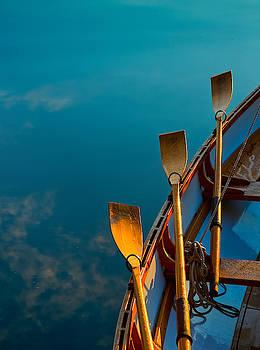 Blue Oars by Tom Gresham