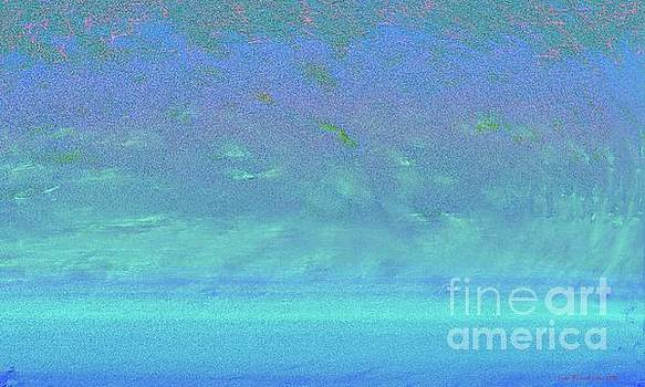 Blue Ocean Abstract by Lutz Roland Lehn