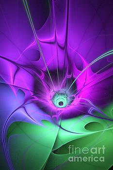 Blue Purple Green by Galina Lavrova
