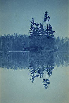 Blue Reflections by Jayson Tuntland