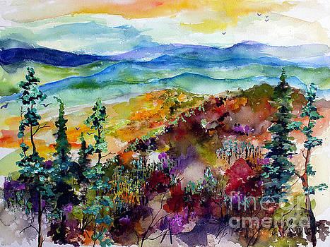 Ginette Callaway - Blue Ridge Mountains Autumn Impressions