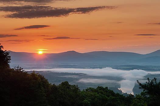 Lara Ellis - Blue Ridge Sunrise End of Summer