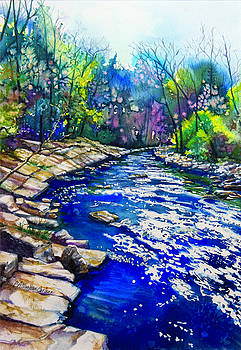 Blue Rindle by Patricia Allingham Carlson
